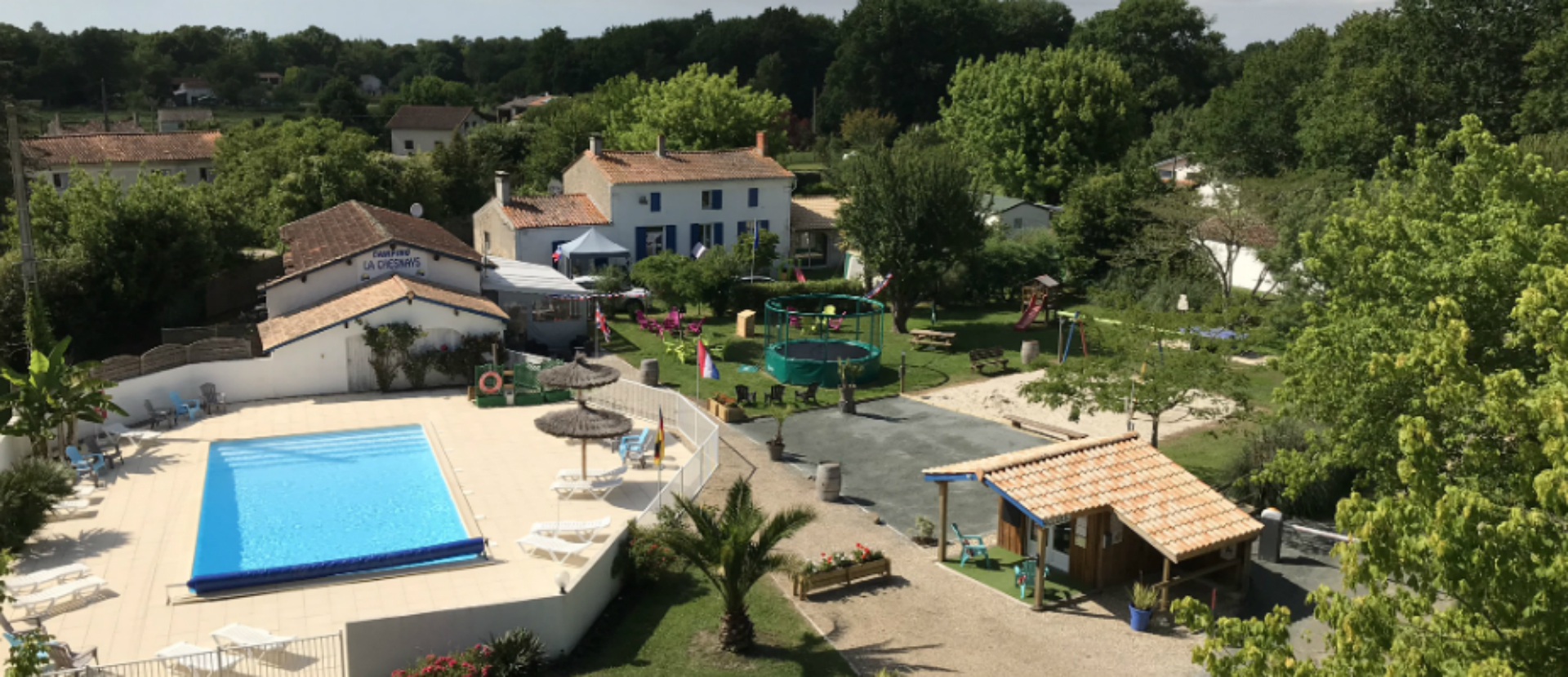 Camping la chesnays - Montalivet -gironde