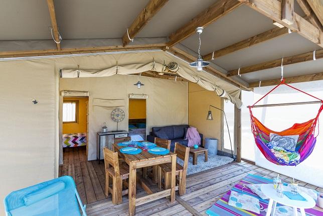 Lodge premium Cotton-camping-montalivet-la chesnays