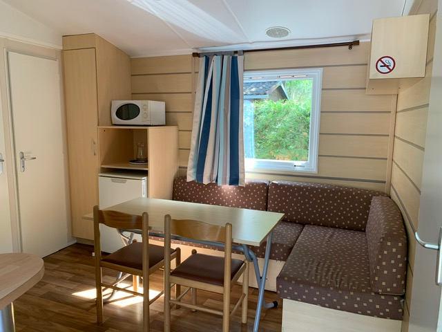 Mobil-home chocolat Camping La Chesnays (3)