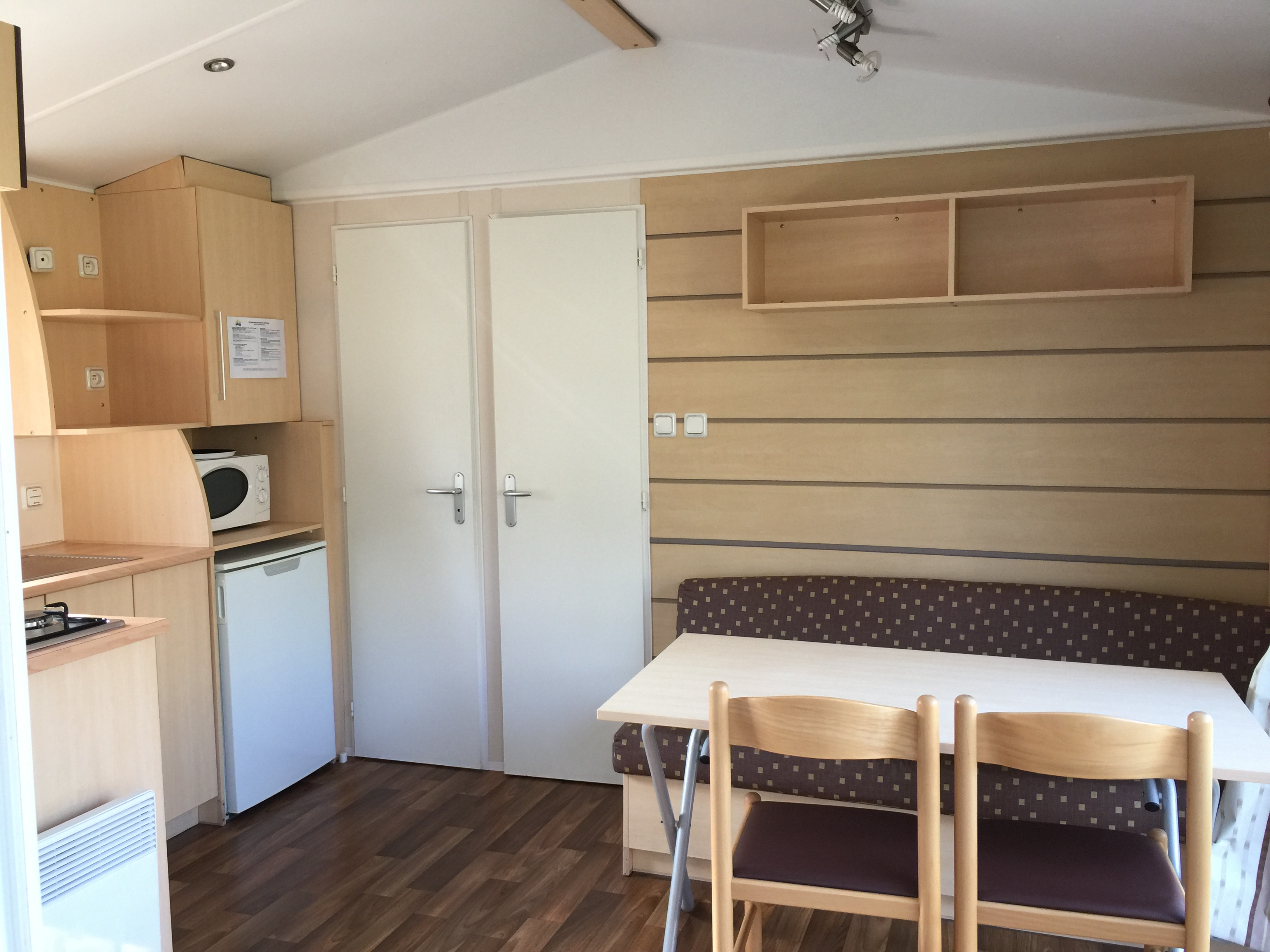 Mobilhome Montana-4 pers-2 chambres-Montalivet-Aquitaine