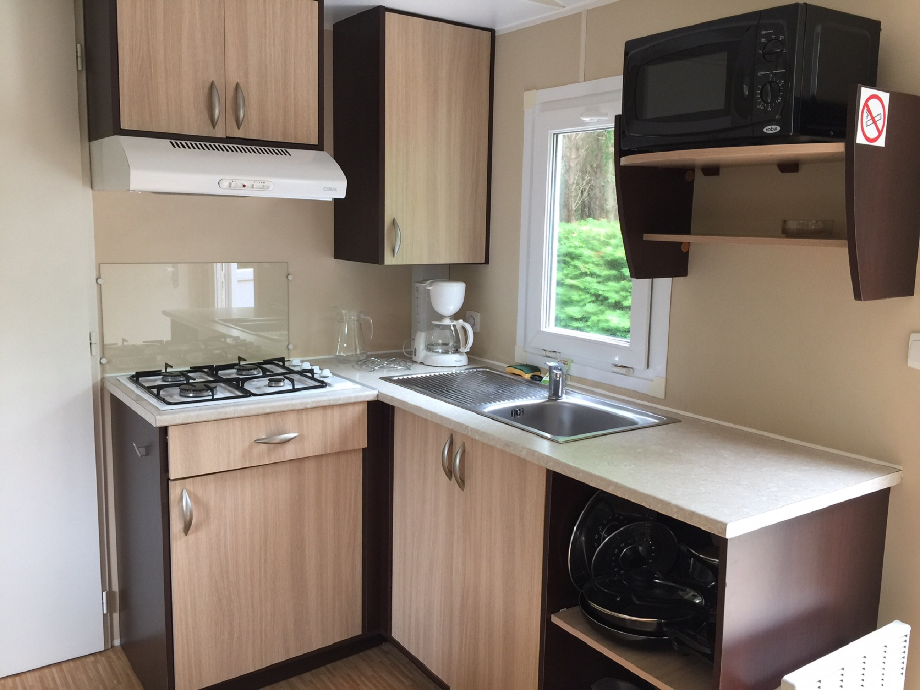 Mobil-home Sympa 3 chambres - 6 pers; (6)