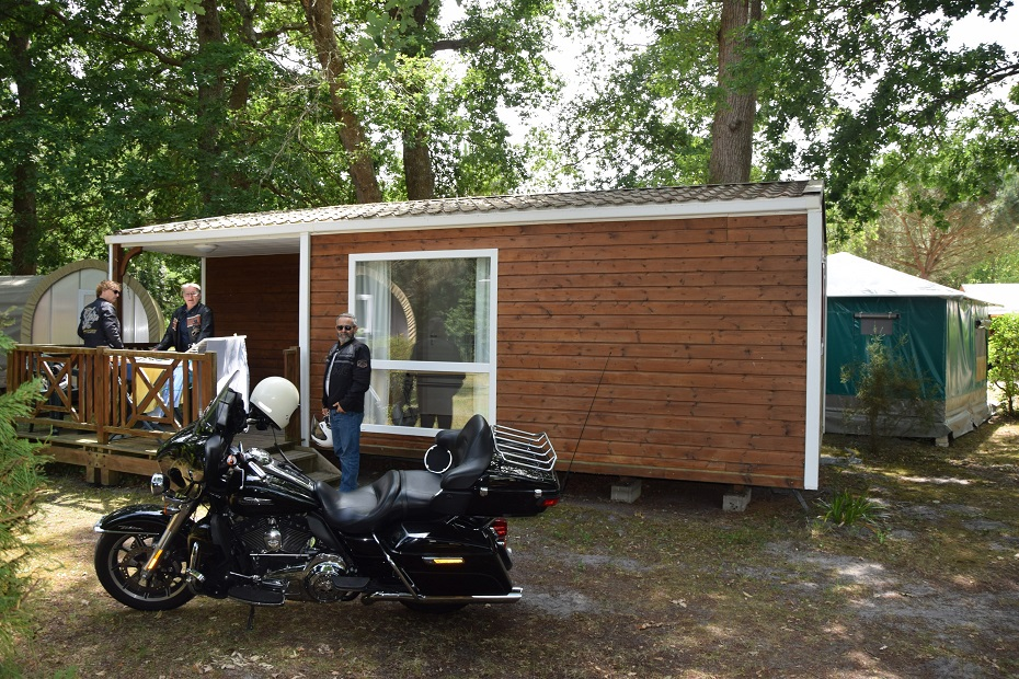 Location mobil-home Show Bike - montalivet-camping la chesnays