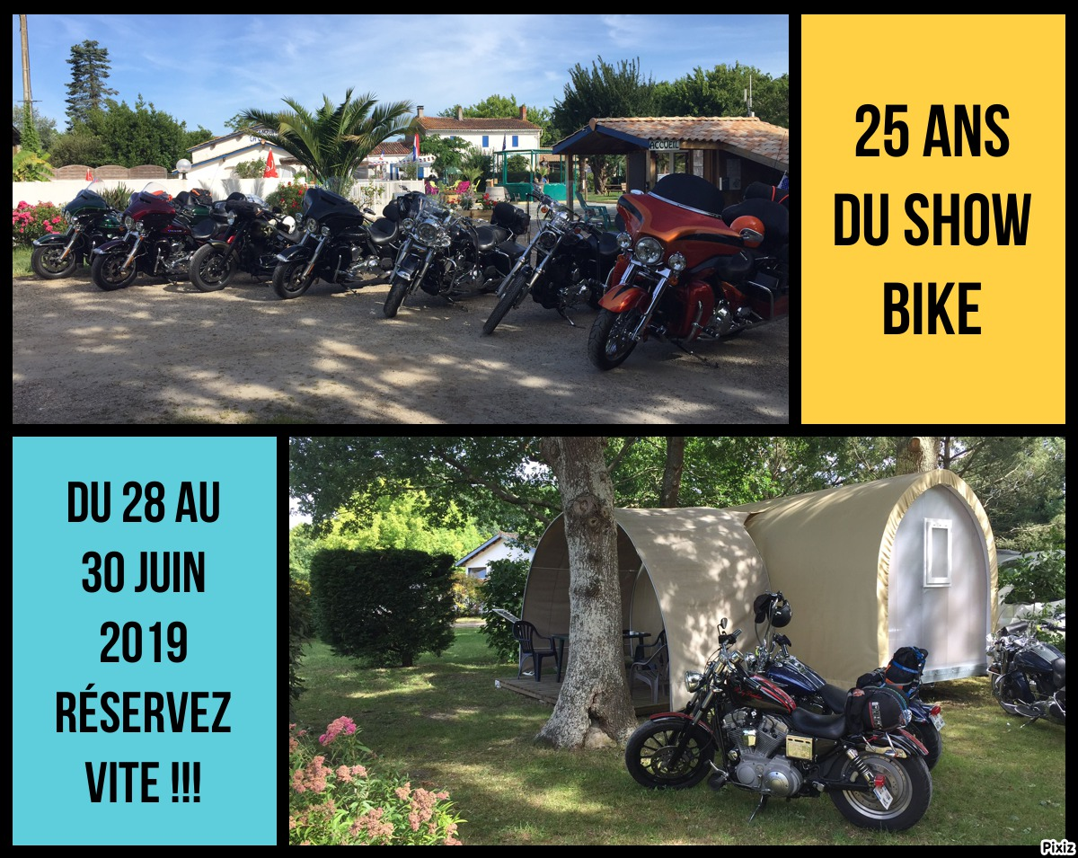 Show-bike 2019-camping-montalivet-la-chesnays