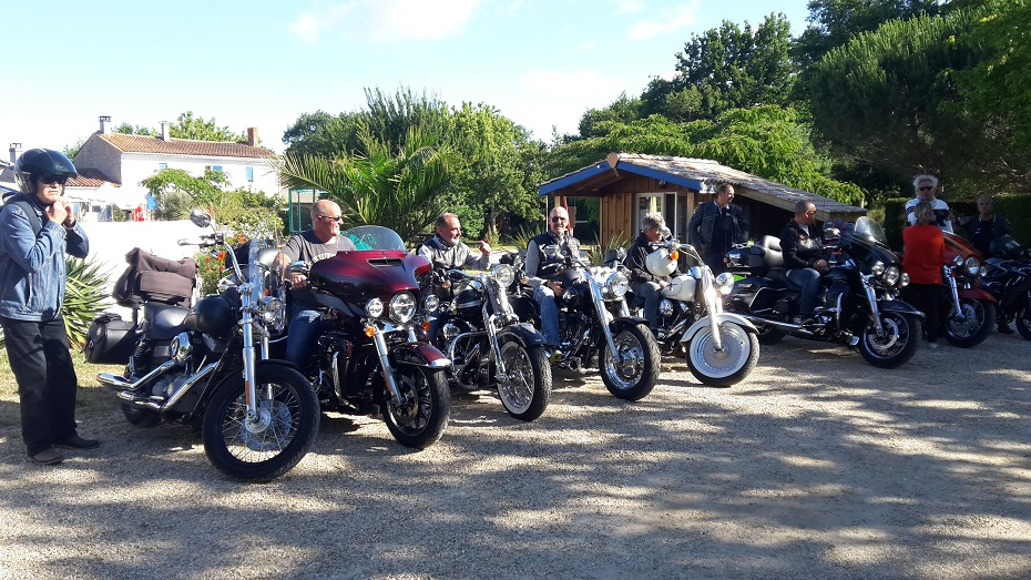 Show bike-montalivet- camping-la Chesnays- aquitaine
